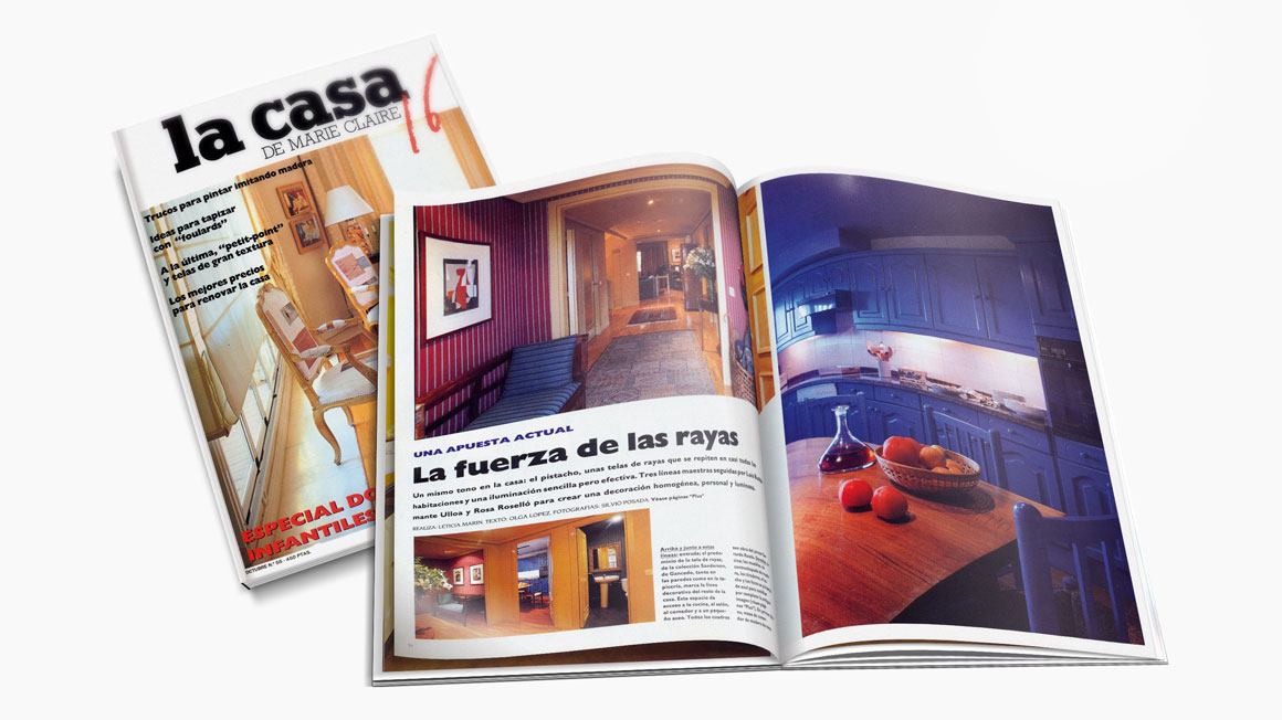 Publicaciones interiorismo rosa rossell - Casa luis pozuelo ...