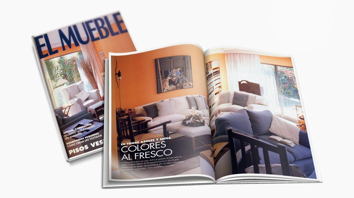 Publicaciones interiorismo rosa rossell for Casa muebles madrid